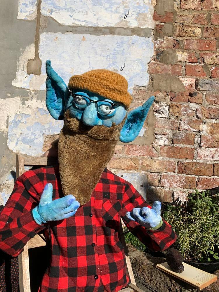 Puppet Commision- Hipster Elf 2020
