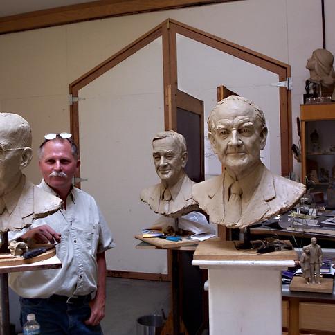 PORTRAITS AT THE STUDIO