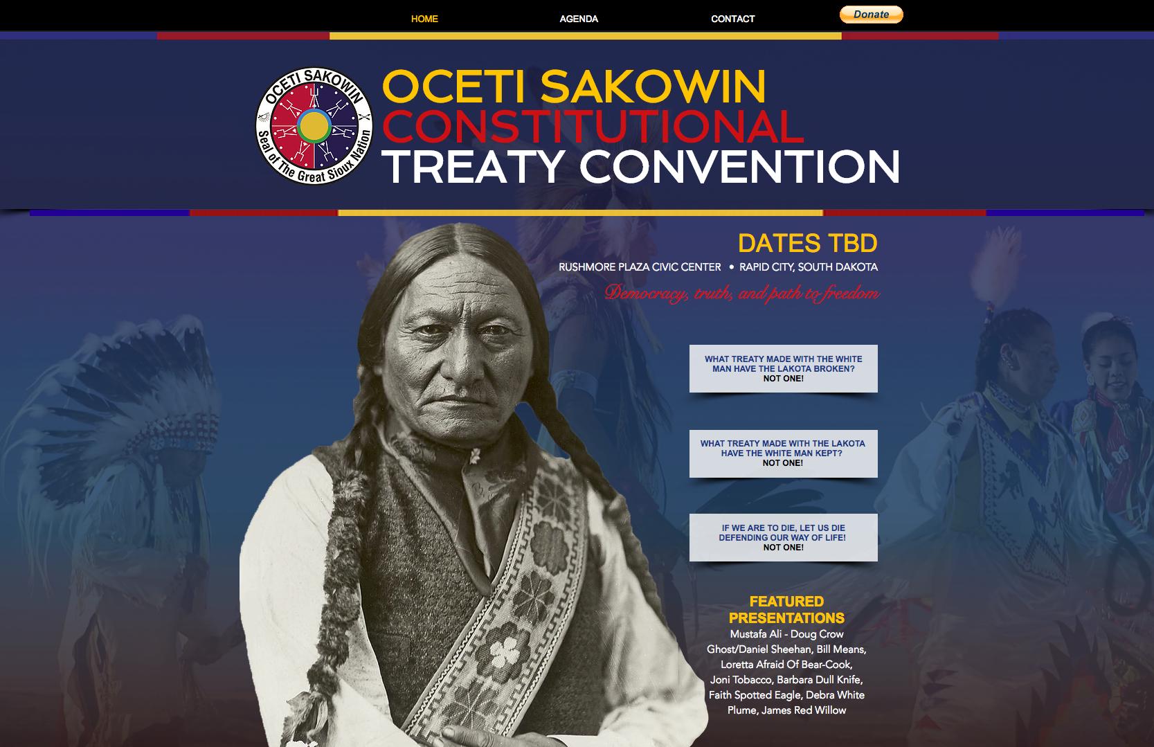 Oceti Sakowin Treaty