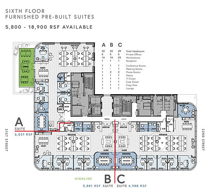 Sixth Floor Furnished Pre Built Suites.j