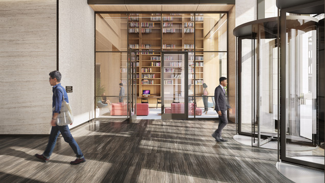 PENN 1 - 343rd Street Lobby Library