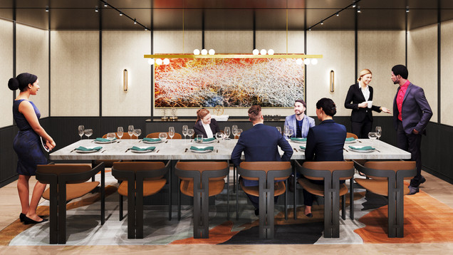 PENN 1 - Private Dining Room