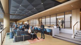PENN 1 - Second Floor Social Stair Lounge