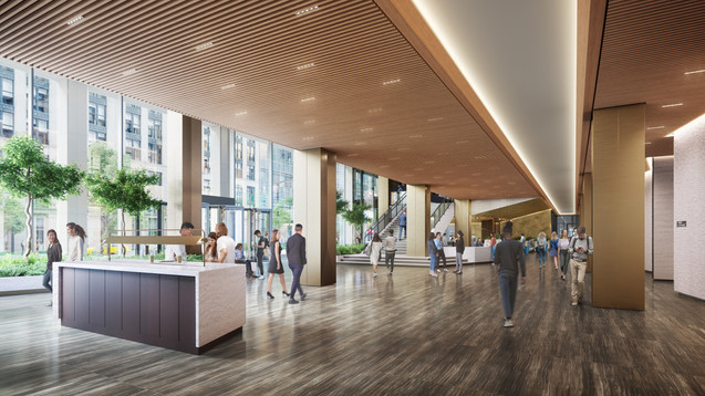 PENN 1 - 34th Street Lobby Overview