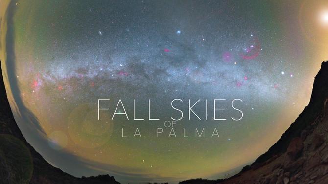 10 full nights under the pristine Fall skies of La Palma