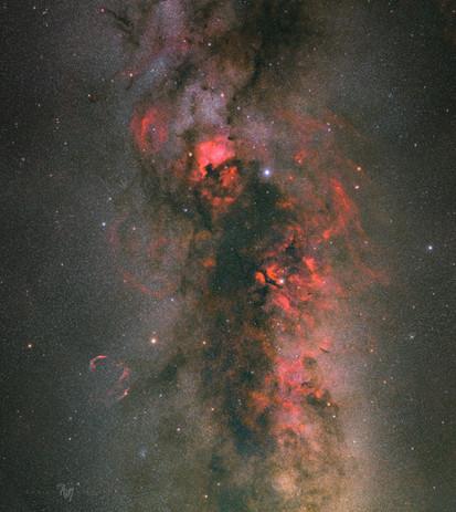 Cygnus nebulae