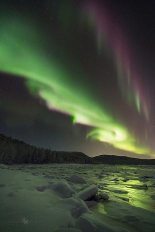 Winter wonderland aurora I