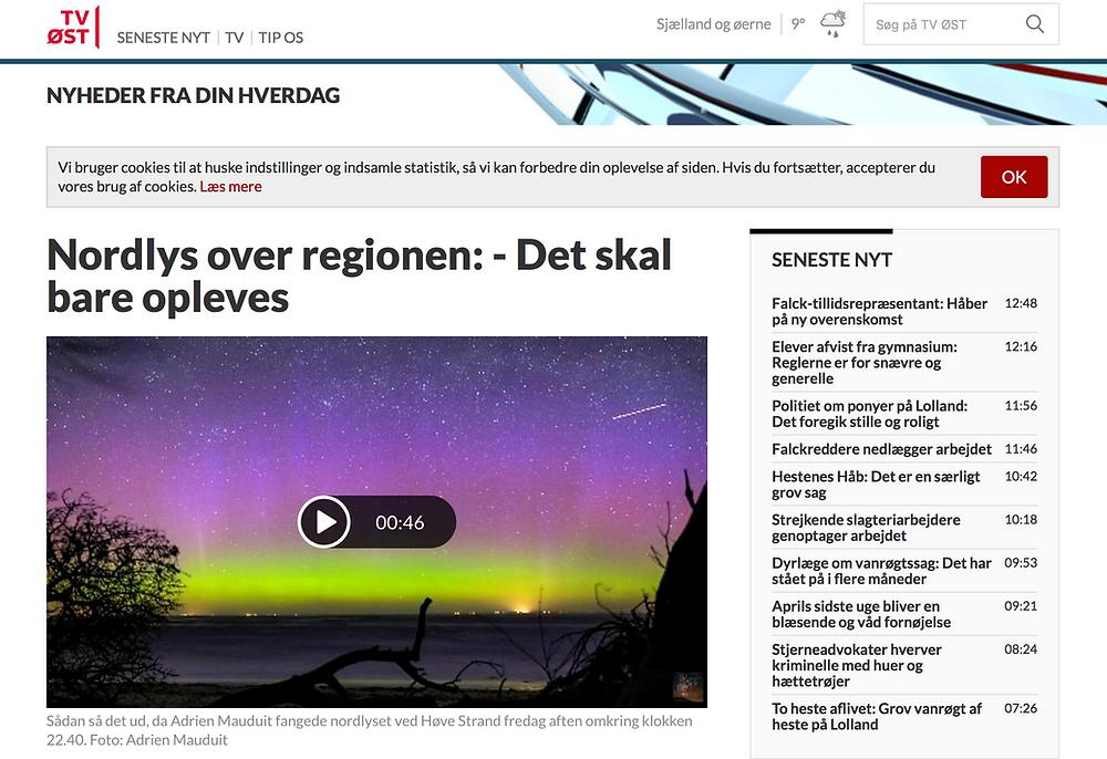 TV ØST's article