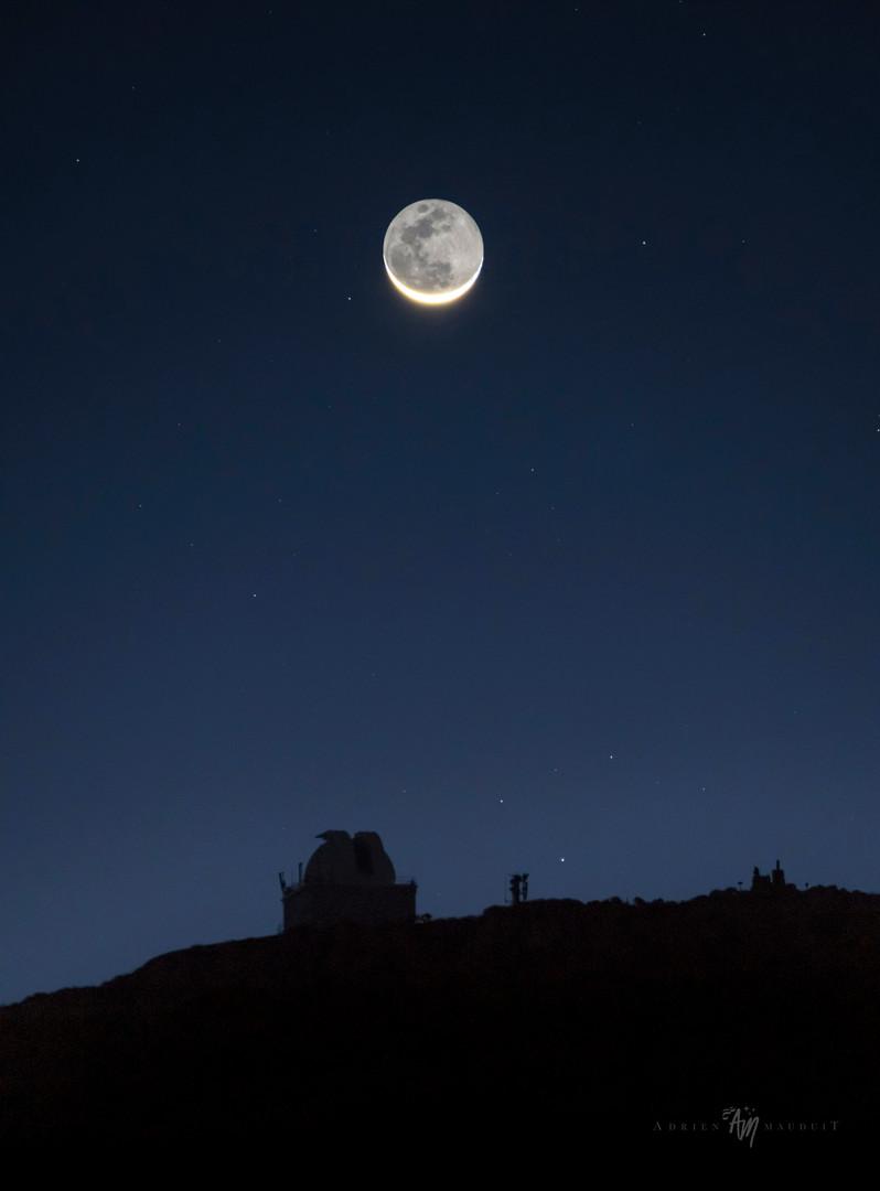 La Palma moon rise