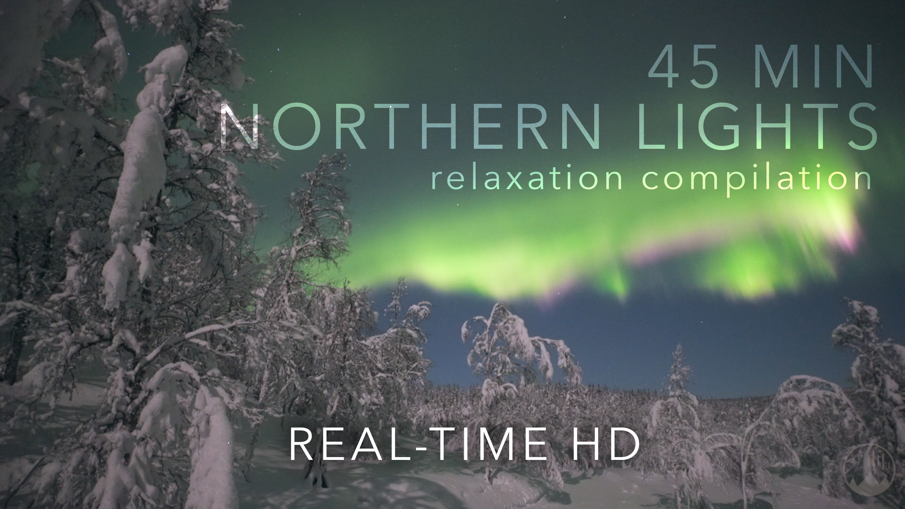 45 minutes of non-stop aurora relaxation in real-time!