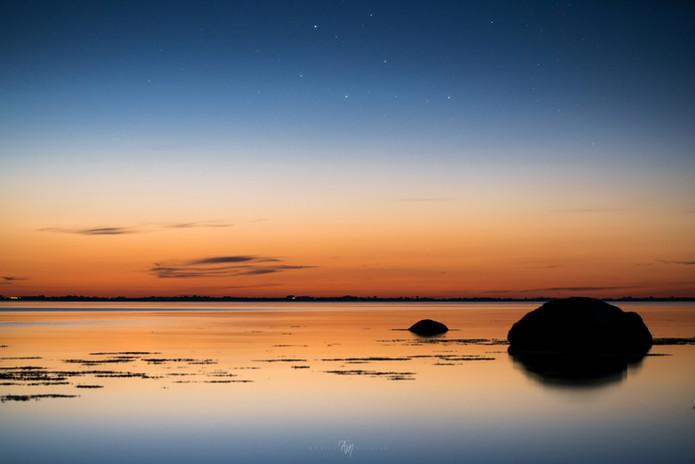 Danish tranquil light nights