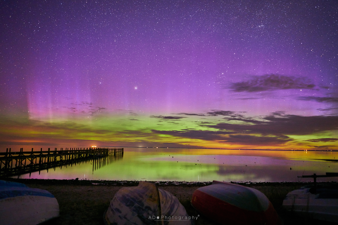 What a May Aurora display!