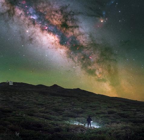 La Palma Caldera night
