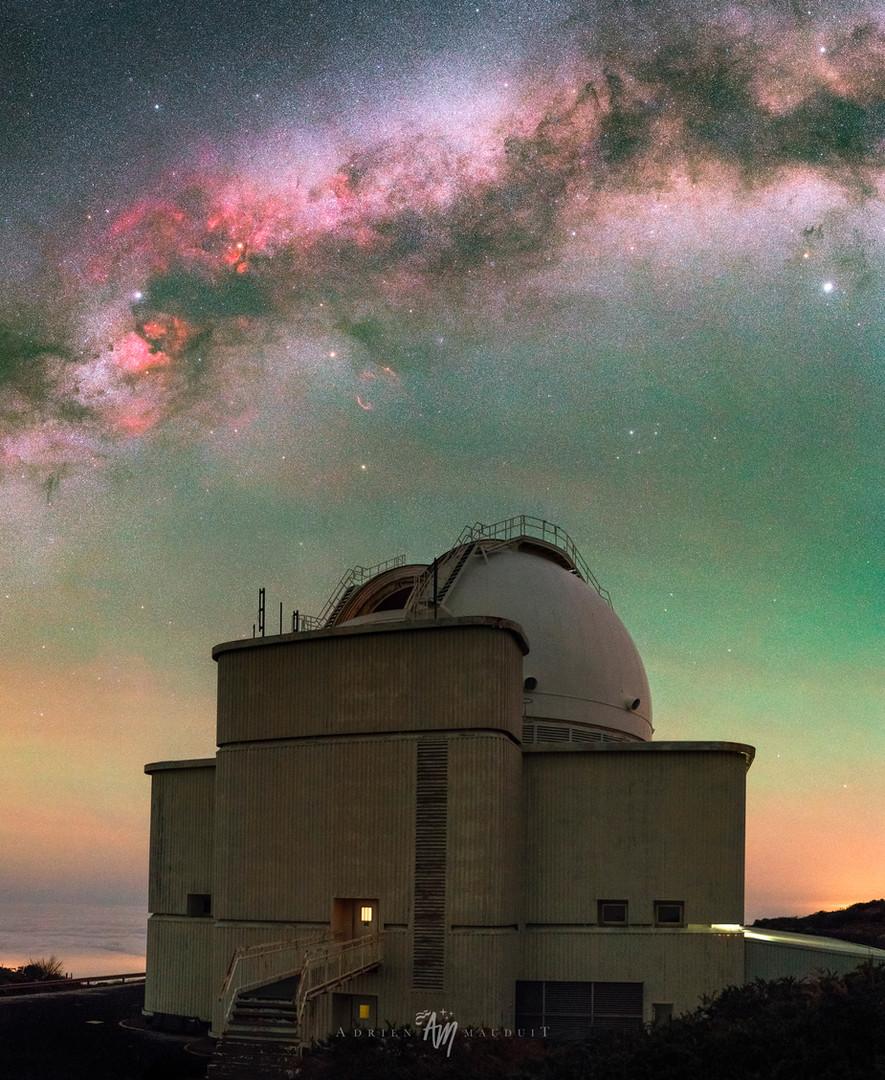La Palma Observatory under Cygnus