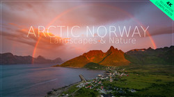 Take a tour of Arctic Norway in 4K