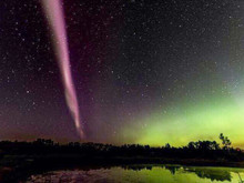 Beautiful sub-auroral arcs across the sky: what we know so far about the phenomenon
