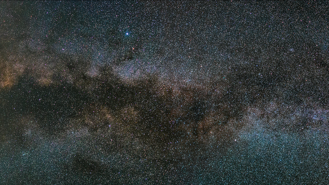 October: a perfect month for shooting the milky way!