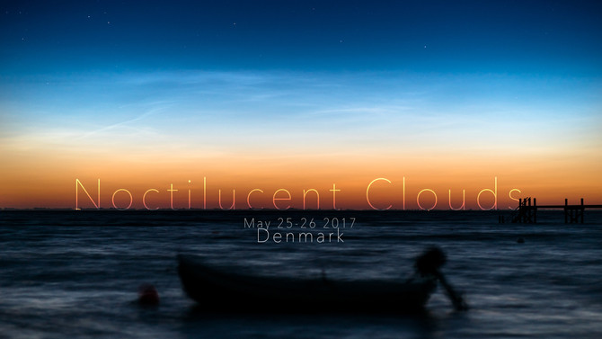 The first noctilucent clouds of the season are here!