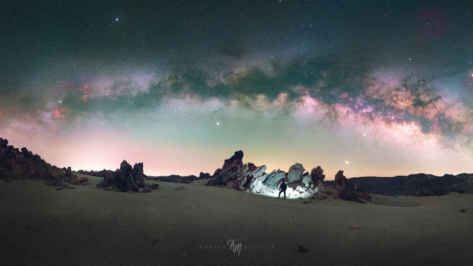Under the sky of Tenerife: behind the scenes of a time-lapse journey to the stars