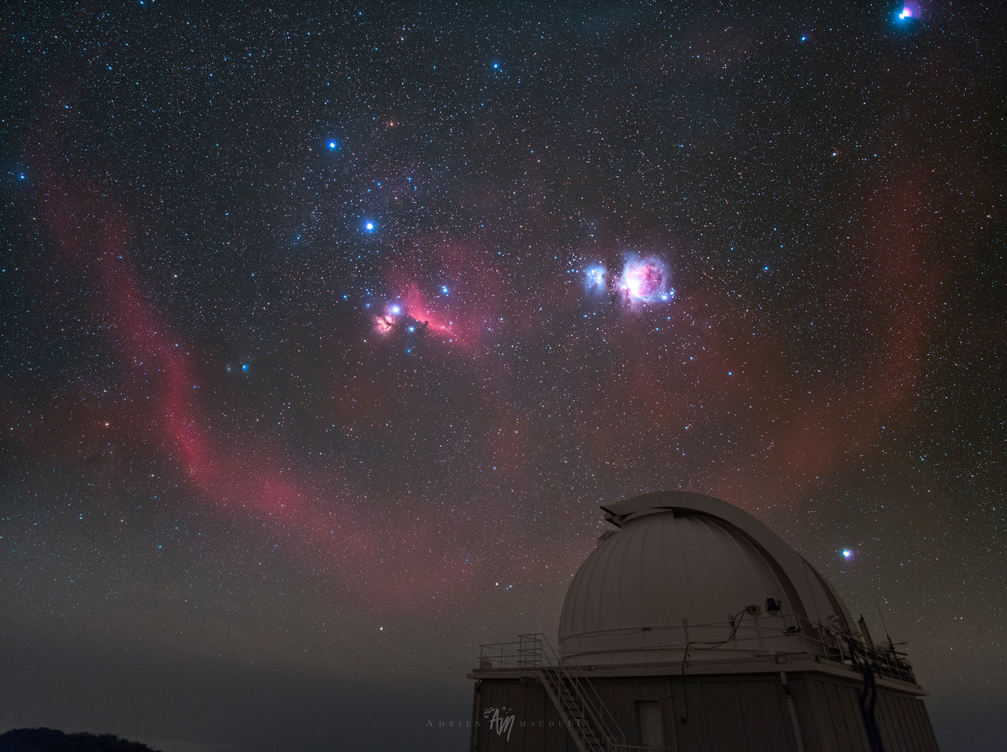If Orion was close by...