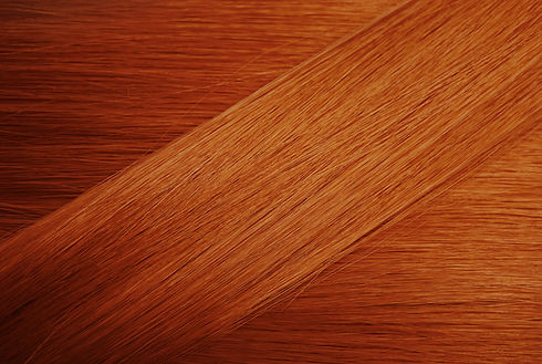 Copper Blonde Hair Sample