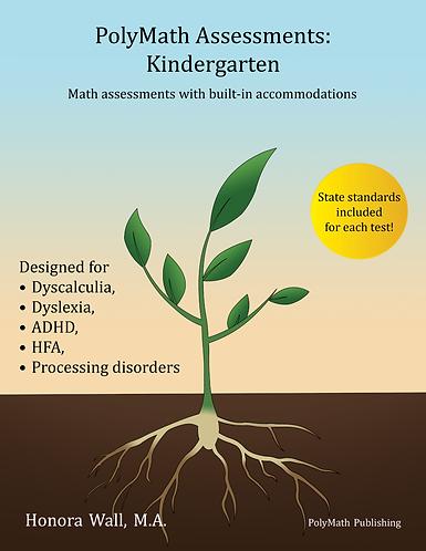 PolyMath Assessments: Kindergarten