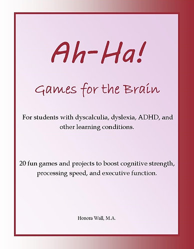 Ah-Ha! Games for the Brain