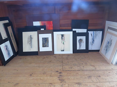 Stages Cours peinture abstraite aveyron,galerie