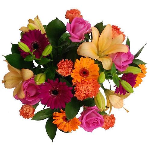 MIX FLOWERS BOUQUET 002