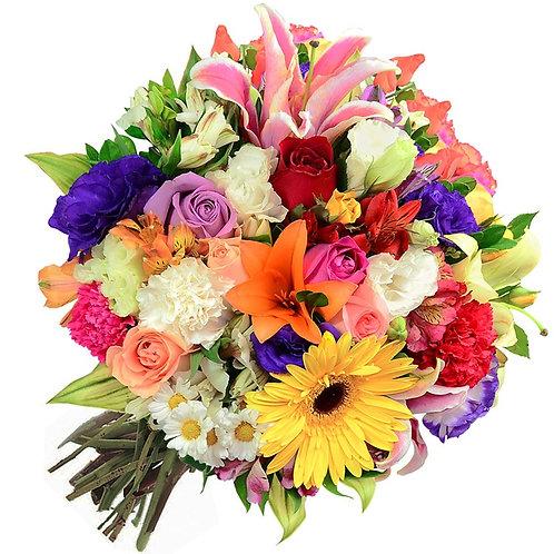MIX FLOWERS BOUQUET 004