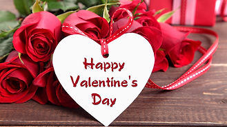 Happy-Valentines-Day-hearts-and-flowers-