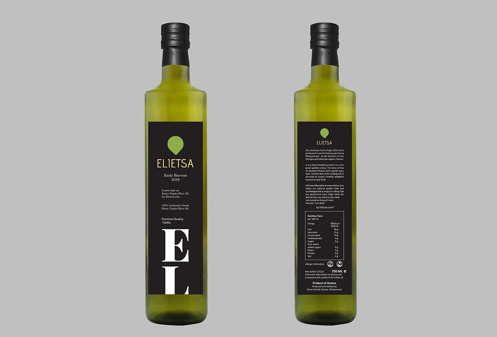 Elietsa Extra Virgin Premium Quality   0.75L