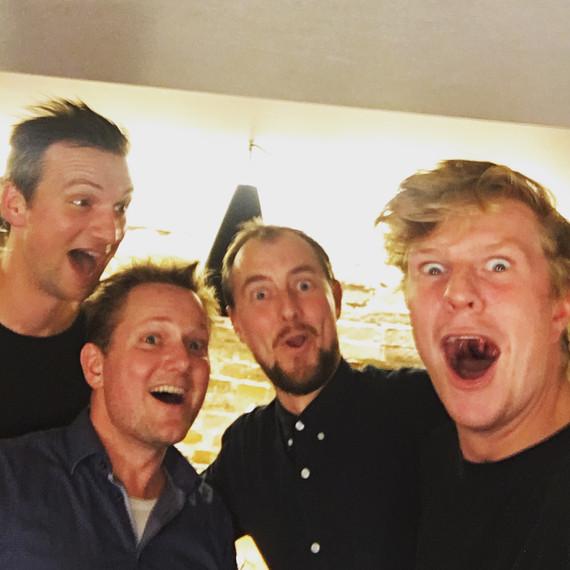 Impro Comedy med Nyt fra Jylland og Kasper Nielsen