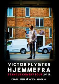 Plakat til Victor flygter hjemmefra 2018