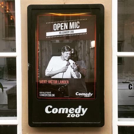 Første gang vært på Comedy Zoo