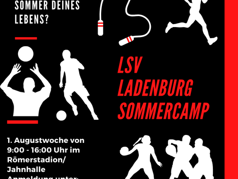 LSV Sportcamp in der ersten Augustwoche