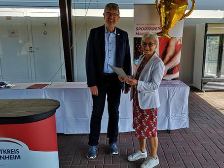 """LSV ausgezeichnet beim Vereinswettbewerb  """"Sport-VEREINt gegen Corona""""des Sportkreises Mannheim"""