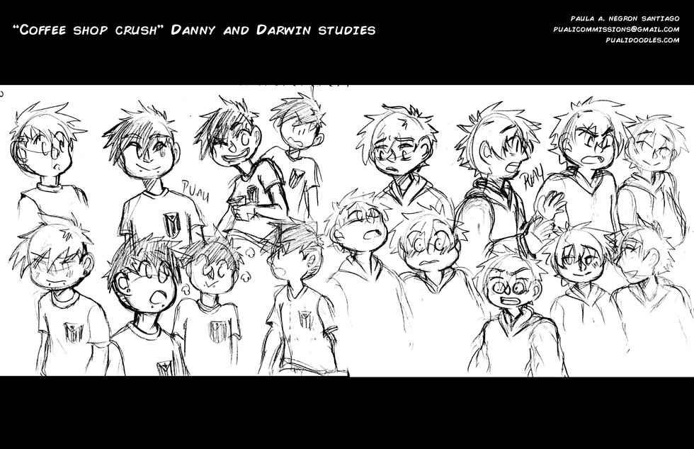Straight D's Character Studies