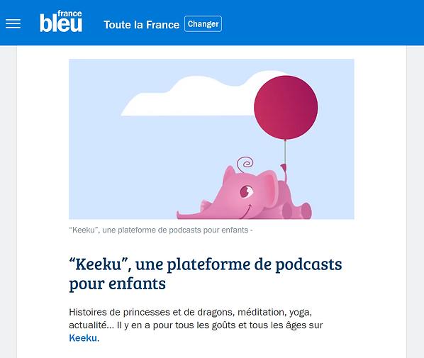 Capture article France Bleu (fév 2021).P
