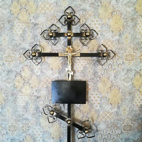 Крест металл №03