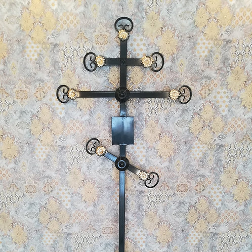Крест металл №04