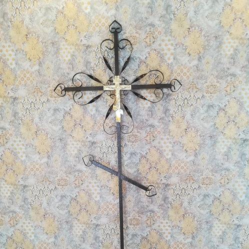 Крест металл №01