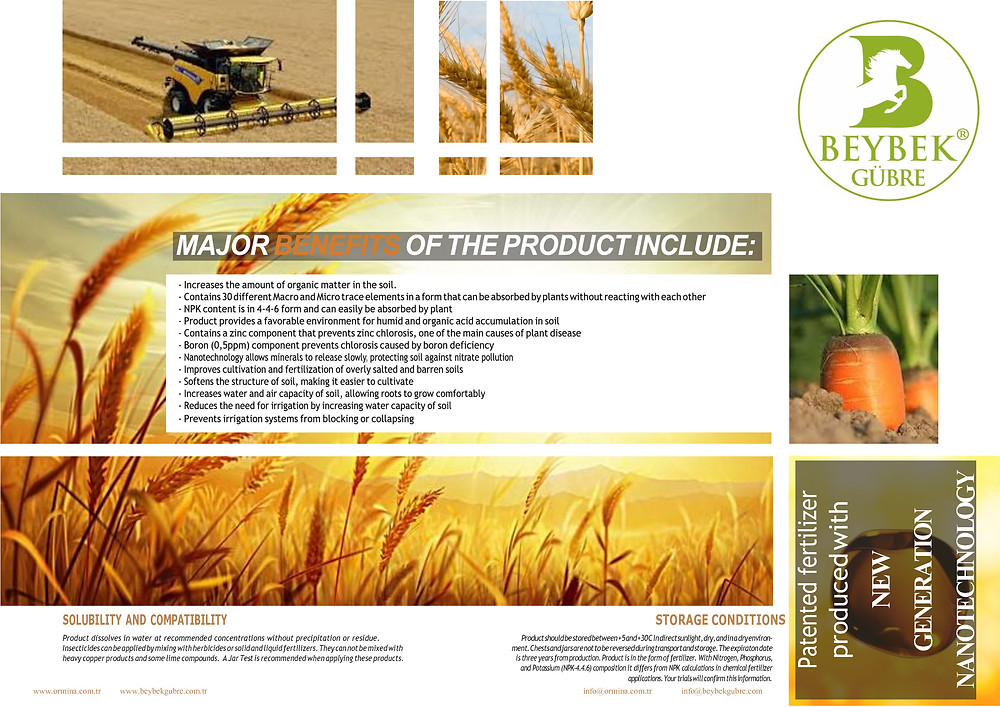 MOJOR BENEFITS OF THE PRODUCT INCLUDE