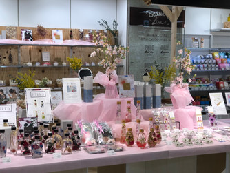 【常時展示中】<br>「the flower wagon」東急ハンズ広島店