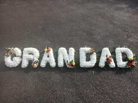 Grandad Funeral Tribute