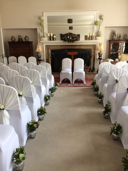 Wedding flowers Aisle runner