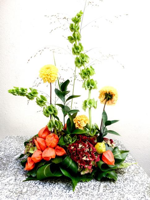 Contempory floral design