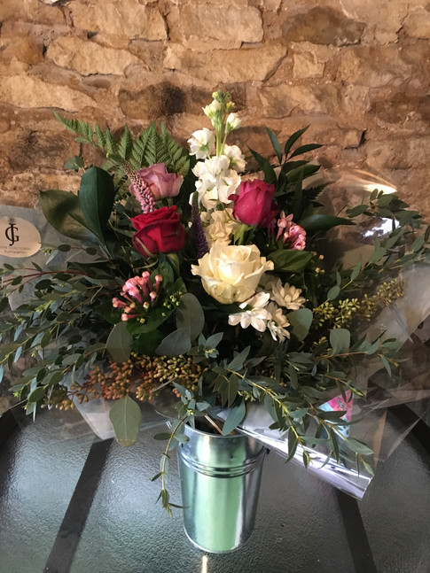 Hand tied bouquets delivered