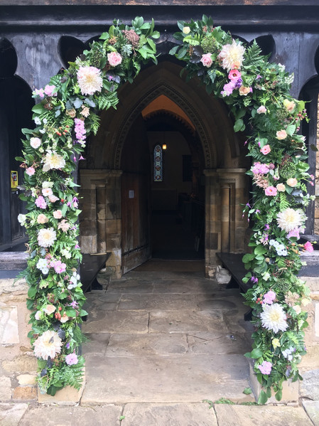 Weding Flower Arch