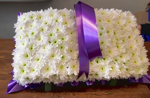Funeral tribute book